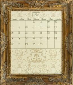 Dry Erase Calendars Calendar