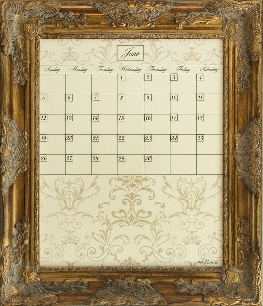step 3 choose your dry erase calendar print