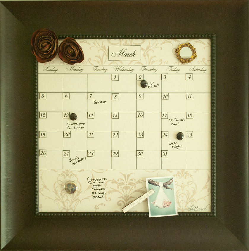 Dry Erase Calendars: Erasable Calendar