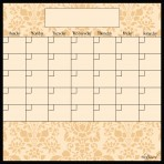 Dry Erase Calendar Fridge Monthly Calendar Magnet Wheat