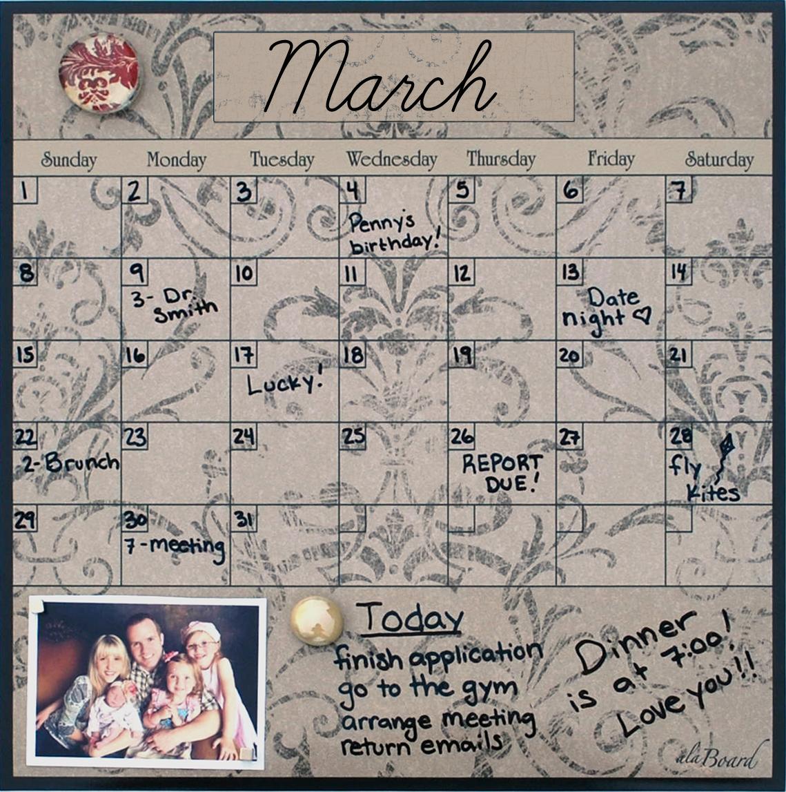 Magnetic Monthly Calendar For Refrigerator : Custom design fridge magnet calendar custom design fridge magnet