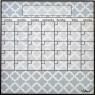 Lattice fridge calendar