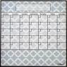 Dry Erase Calendar Fridge Monthly Calendar Magnet Lattice