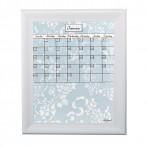 Medium Sky Tapestry Calendar Board Framed White