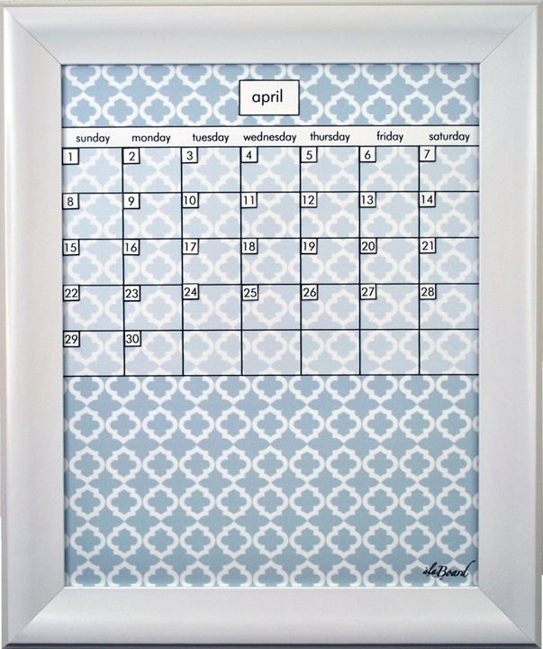 step 3 choose your dry erase calendar print