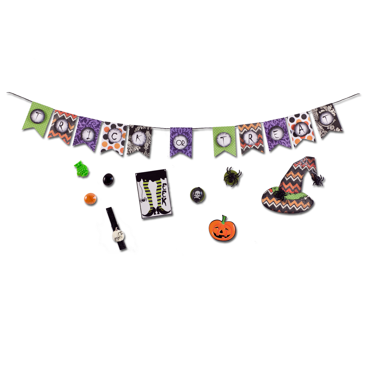 Trick or Treat Halloween Magnet package