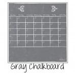 Dry Erase Calendar Fridge Monthly Calendar Magnet Gray