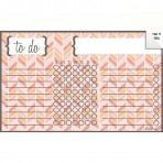 Chore Chart Decal Herringbone Multi-Color