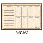 Weekly Calendar Magnet Wheat