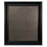 Large Metal Board Framed Black