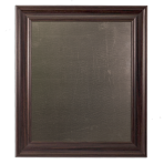 Large Metal Board Framed Brown
