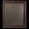 Large Metal Board Framed Brown