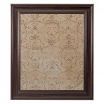 Large Mocha Message Board Framed Brown