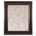 Medium Contrast Message Board Framed Brown
