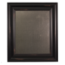 Medium Metal Board Framed Wood Black