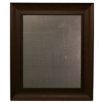 Medium Metal Board Framed Bead Brown