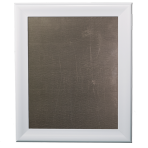 Medium Metal Board Framed White