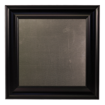 Small Metal Board Framed Black