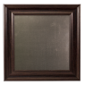 Small Metal Board Framed Brown