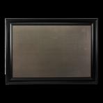 XL Metal Board Framed Black