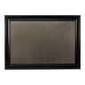 XL Metal Board Framed Black