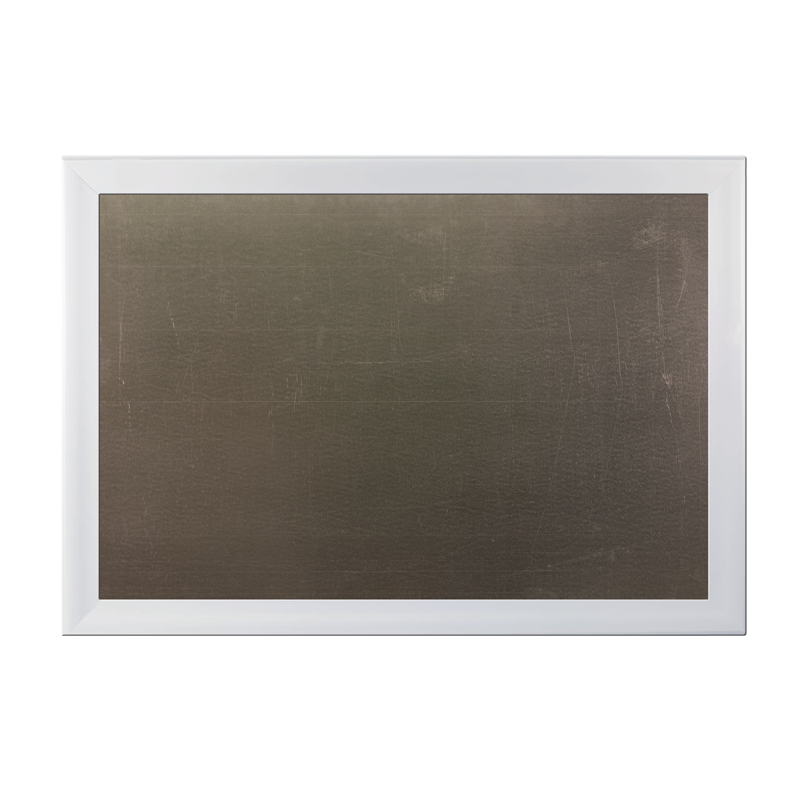 XL Metal Board Framed White