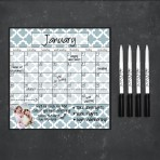 Monthly Calendar Magnet (Lattice)+ Marker 4 Pack